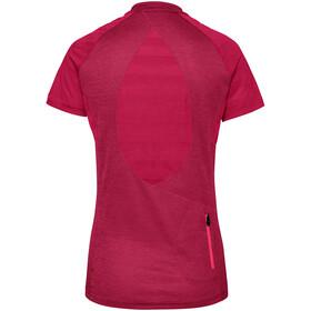 VAUDE Tamaro III T-shirt Femme, crimson red/cranberry